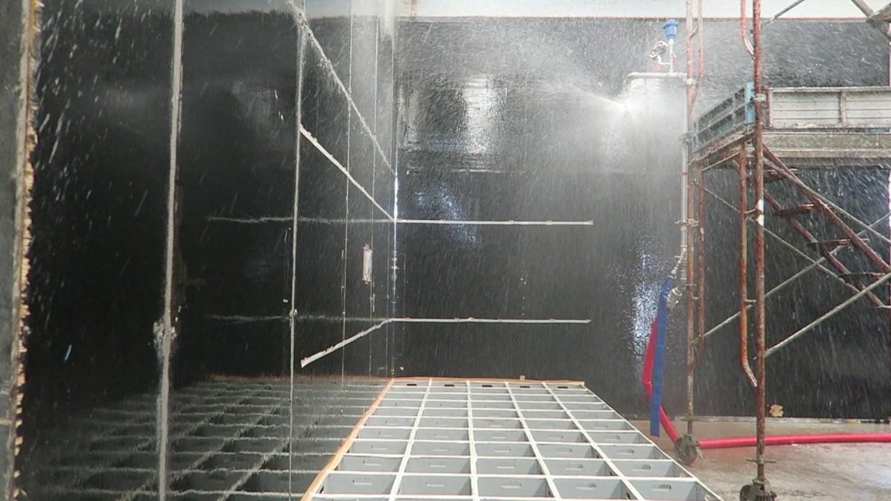 Conventional type Sprinkler Spray Patterns