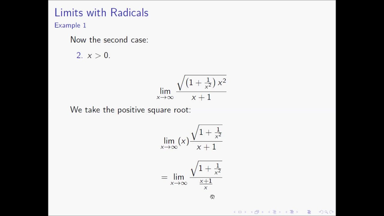 Solving Limits at Infinity: Intuition and Examples