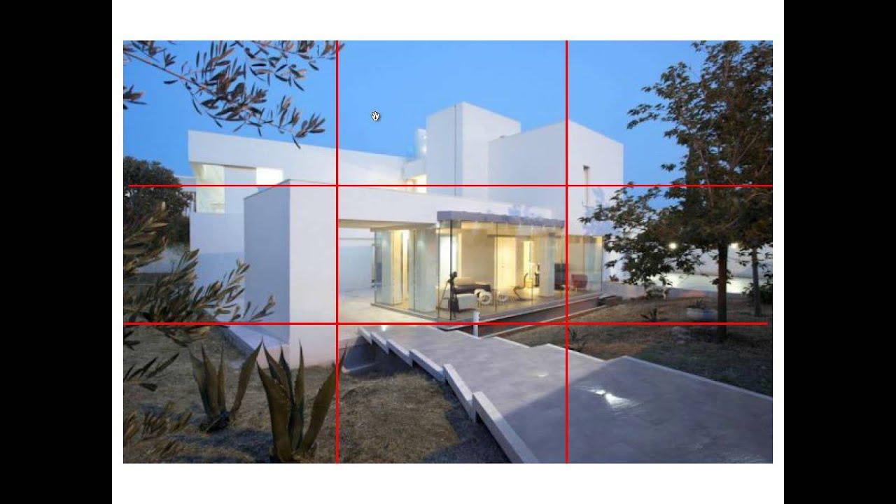 Resultado de imagen para regla de tercios arquitectura