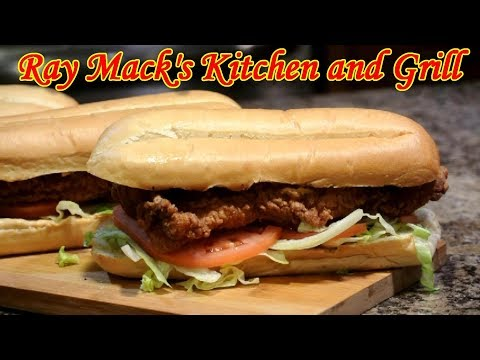 Po' Boy Sandwich Recipe | Fish And Shrimp Po Boy