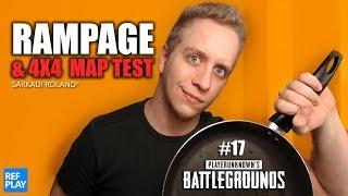 RAMPAGE FILM & 4x4 esport map test ismét????|PUBG játék #17 KOCKULÁS| REFPLAY