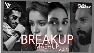 Breakup Mashup 2021 | Dj Sourav X Yash Visual | #Breakup