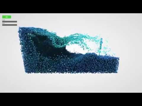 Fluid Particles: Real-time particle-based 3D fluid simulation