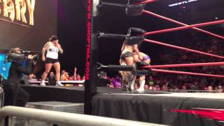 TNA Wrestling Slammiversary 2013 Gail Kim vs. Taryn Terrell Match Finish Boston