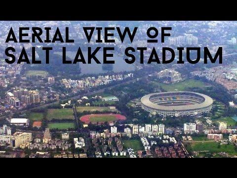 Aerial View of Salt Lake Stadium Kolkata, India l GoPro l Atletico de Kolkata East Bengal