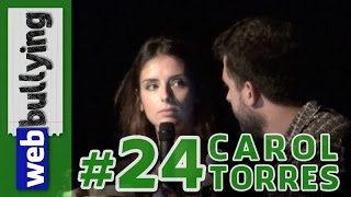 WEBBULLYING NA TV #24 - CAROL TORRES, Portugal (Programa Pânico)