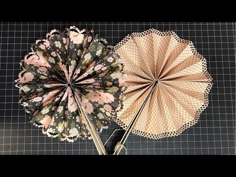 Folded Paper Fan