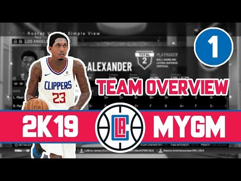 """""""A New Day"""" - NBA 2K19 Los Angeles Clippers MyGM - ep. 1"""