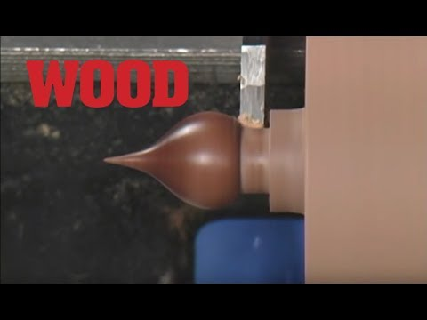 Woodturning Project: Toothpick Dispenser (part 3)    WOOD Magazine