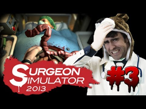 KIDNEY TRANSPLANT SUCCESS!!! - Surgeon Simulator 2013 Steam Pt 3
