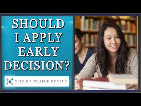 College Admissions Expert Speaks About Early Decision
