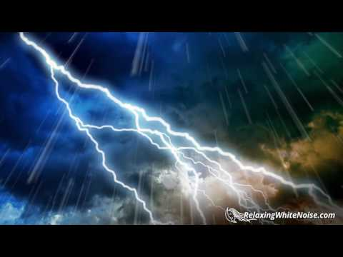 Big Thunder & Rain Sounds | Storm White Noise | Sleep, Study, Relax | 10 Hours