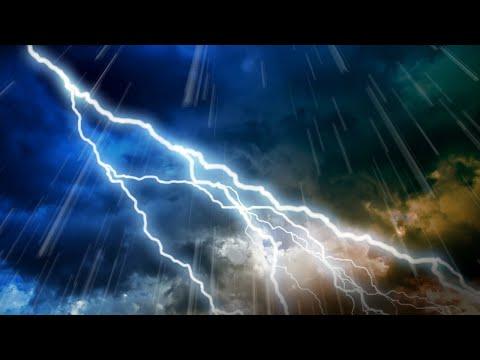 Big Thunder & Rain Sounds | Storm White Noise | Sleep, Study, Relax | 10 Hours