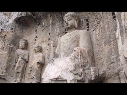 (China part 4) Luoyang: Longmen Grottoes and White Horse Temple