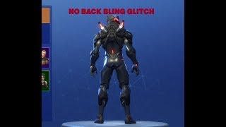 HOW TO GET RID OF BACK BLING ON FORTNITE SEASON 5