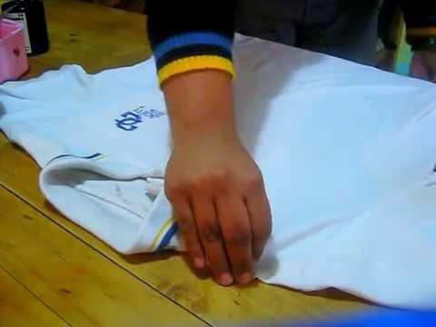 Blog como doblar una camisa tipo polo tics youtube - Como doblar una camisa ...