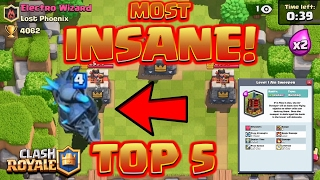 Download Clash Royale - TOP 5 *MOST INSANE NEW FEATURES* Mp3 and Videos