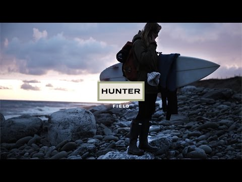 THE NEW HUNTER FIELD CAMPAIGN – EVERYDAY PIONEERS featuring cold water surfer Sophie Hellyer