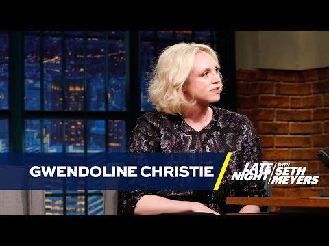 Gwendoline Christie Literally Cried When Madonna Invited Her on Stage