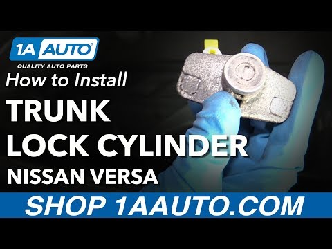 2008 Toyota Corolla How To Replace Trunk Lock ά