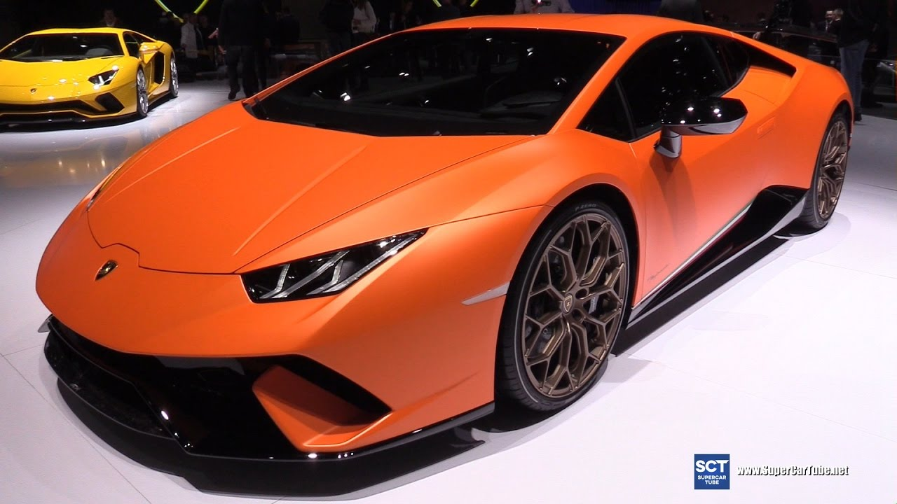 2018 lamborghini performante. plain 2018 2018 lamborghini huracn performante  exterior interior walkaround debut  2017 geneva motor show intended lamborghini performante o