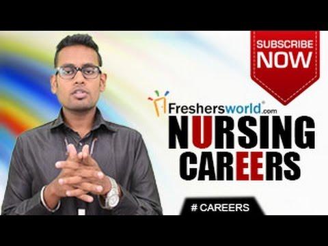 CAREERS IN NURSING – B.Sc,M.Sc,PG,Medicine,Recruitment,Salary package