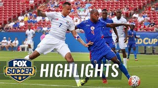 Panama vs. Haiti - 2015 CONCACAF Gold Cup Highlights