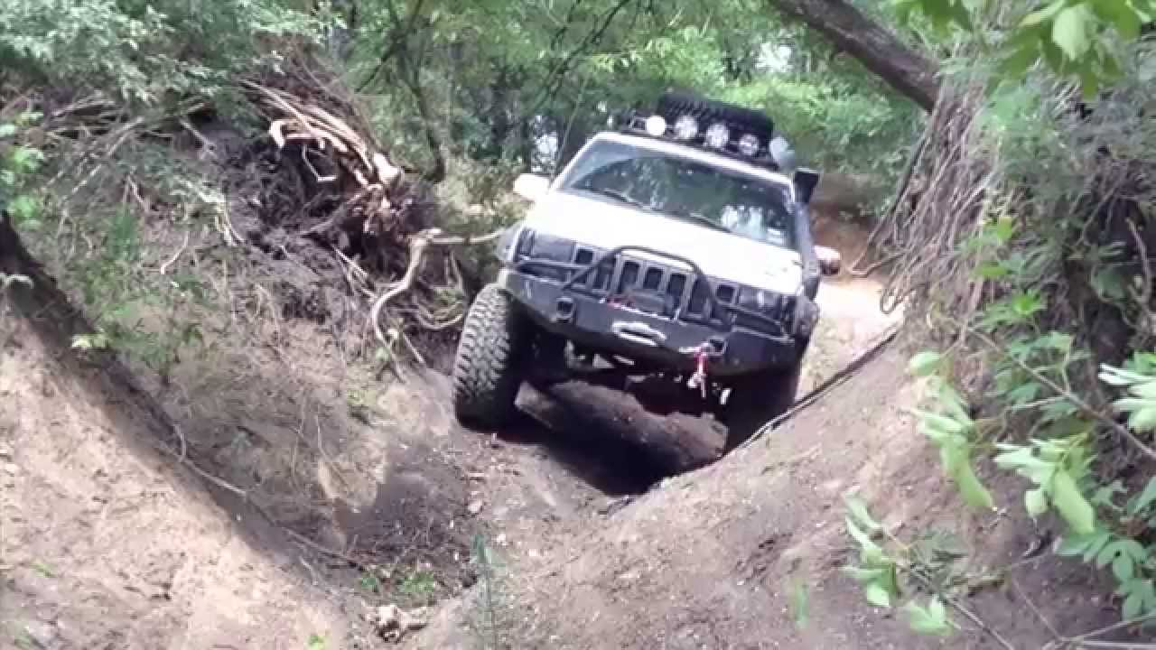 SUMMER DRY RUN - IRON ROCK OFF ROAD LONG ARM TEST - XJ ZJ