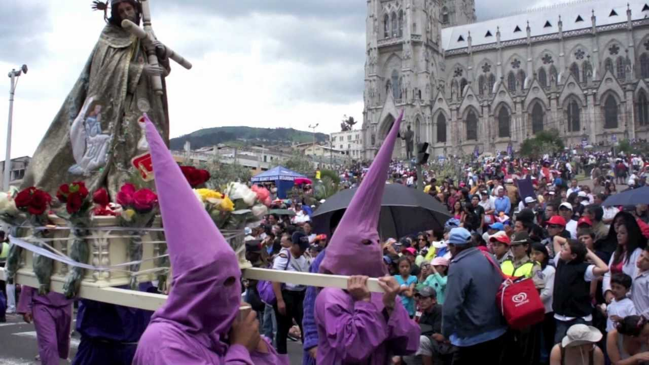 Semana Santa, Quito - Ecuador - YouTube   Semana Santa Quito