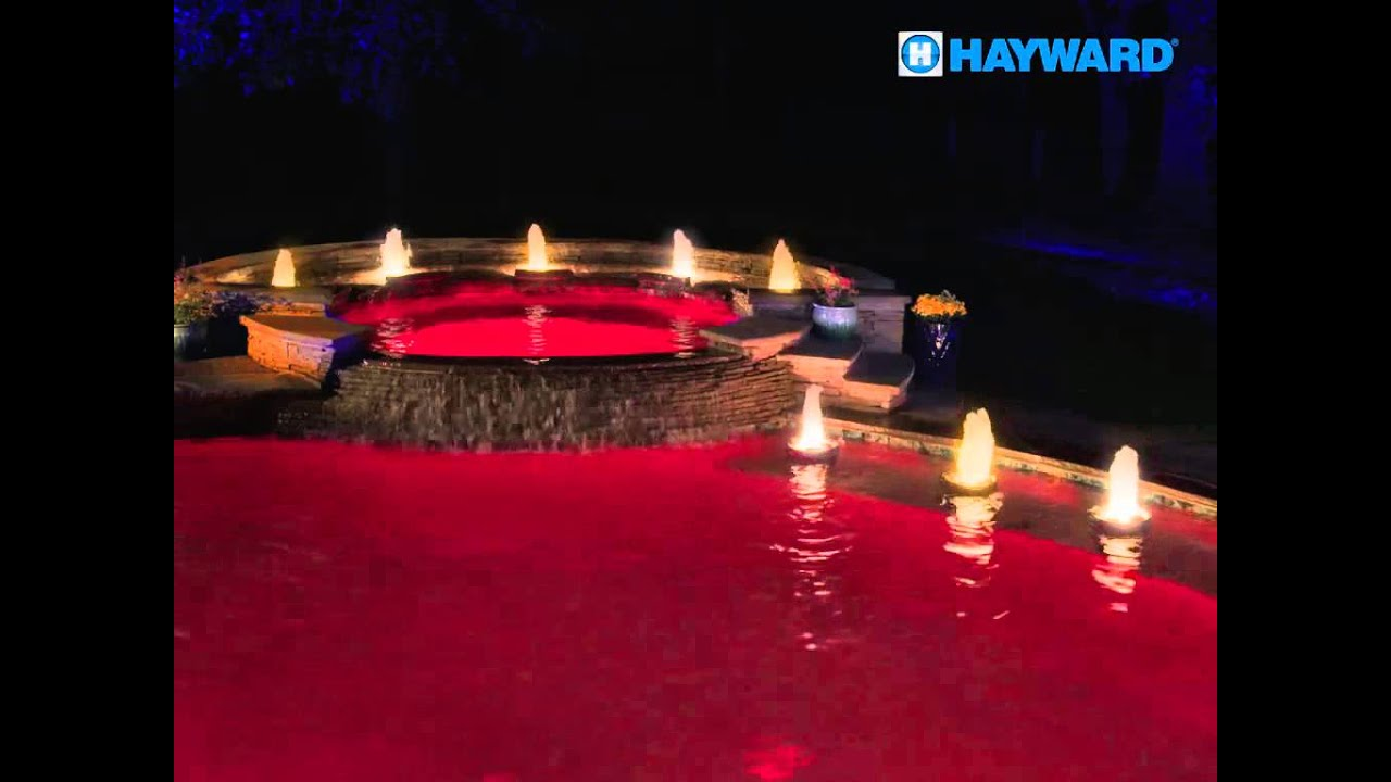Red, White & Gold Pool