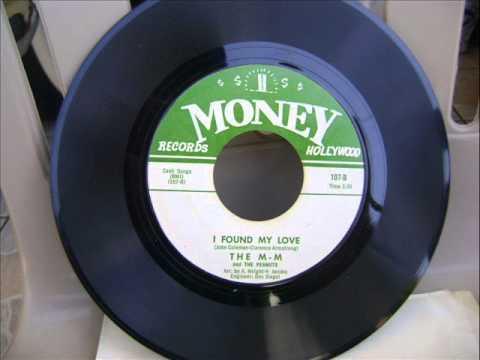 THE M-Ms &THE PEANUTS,I FOUND MY LOVE rare 45.