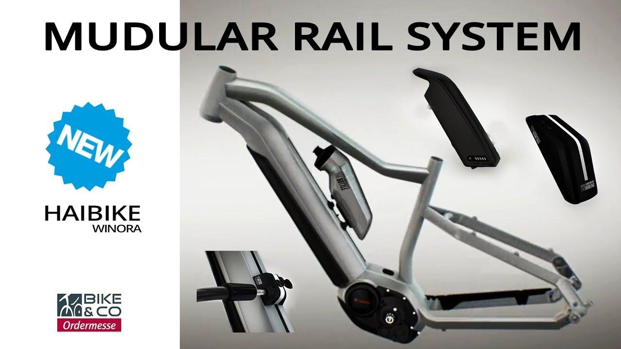 9adac391749764 Haibike Modular Rail System 2018 - YouTube