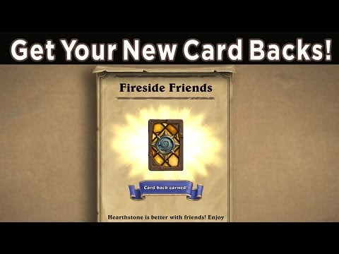 Earn New Card Backs In Hearthstone - Limited Time!