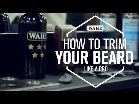 WAHL CANADA CONSUMER - HOW TO TRIM LIKE A PRO | With Luca  from Fratelli's Salon