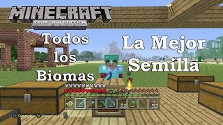 Minecraft: XBOX 360/ONE/PS3/PS4 - Semilla / Seed - TU23 La Mejor Semilla de Minecraft LA MIA xD