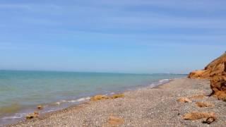 Пляж в Береговом - Крым 2017(Галечно-песчаные пляжи, мягкие климатические условия и освежающий бриз создают идеальные условия для отды..., 2016-06-08T16:38:39.000Z)