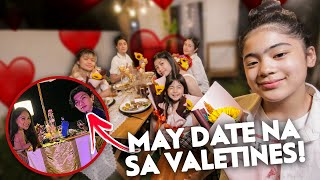 May DATE Na Sa VALENTINES Si KUYA!! (Celebration) | Ranz and Niana