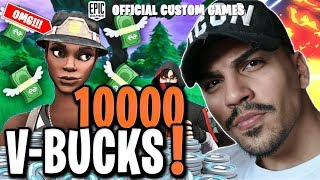 💶🏆 SOLO/DUO 1Kill = 100 V-BUCKS CUSTOM GAMES TURNIER 🏆💶 | FORTNITE LIVE DEUTSCH 🔴