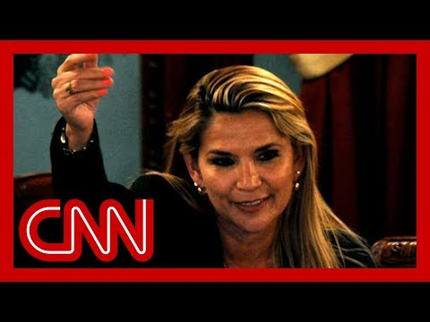 Bolivian senator declares herself acting president