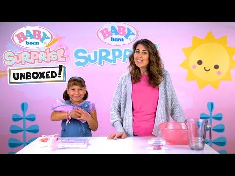 Unboxed!: Baby Born Surprise: Bathtub Surprise