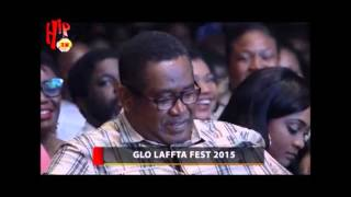 Okey Bakassi thrills crowd at the GLO Laffta Fest