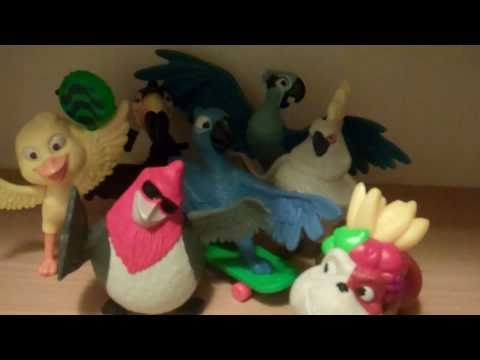 Rio Movie Mcdonalds Toys Review