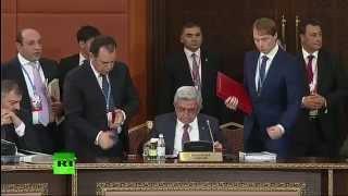 Заседание высшего Евразийского экономического совета на уровне глав государств