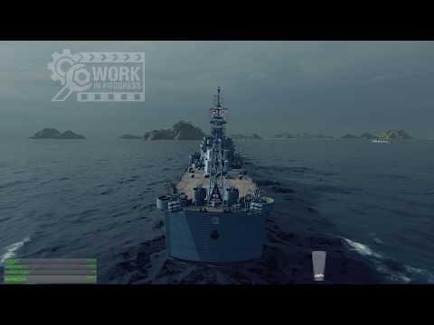 World of warships - NEW USN tier 7 premium LIGHT cruiser Boise WiP