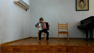 Азарьева полька аккордеон