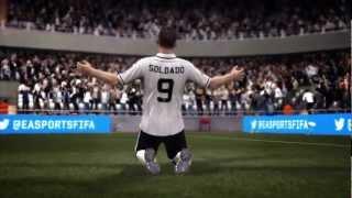 FIFA 13 - I top player celebrano la nuova stagione FIFA 13