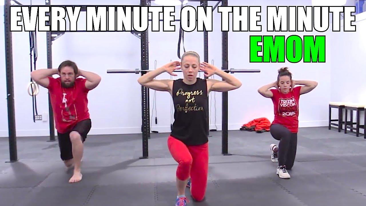 35 Min EMOM  Created by Shay Loss