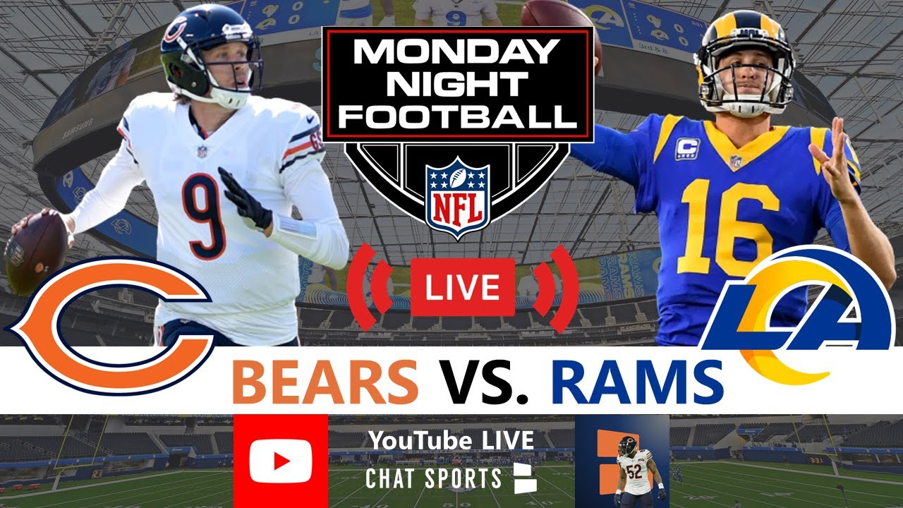 Bears vs. Rams live score, updates, highlights from 'Monday Night ...