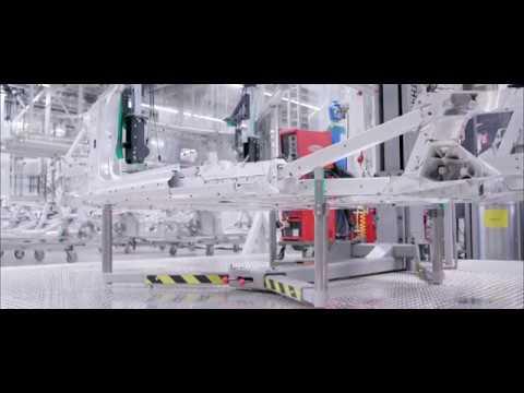 Anwenderbericht - Laserprojektoren von Z-LASER bei der Audi Sport GmbH (AUDI R8 Plus)