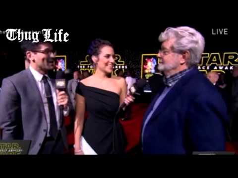 George Lucas goes ''Thug Life'' on Jurassic World Producer
